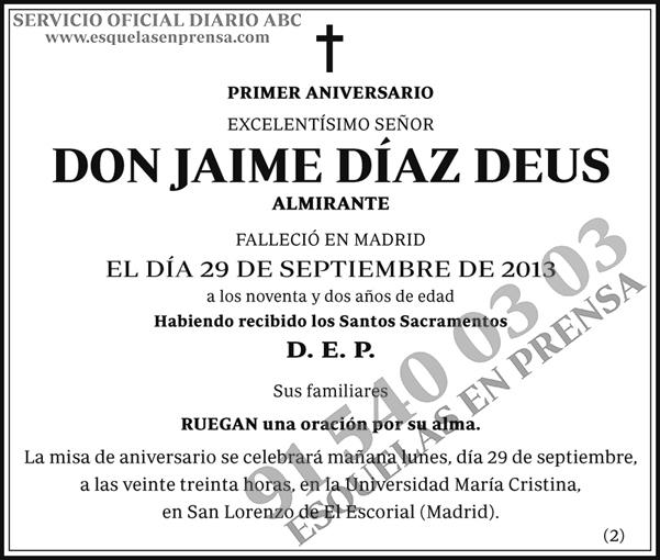 Jaime Díaz Deus